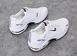 Кросівки білі в стилі Nike air max, фото 2