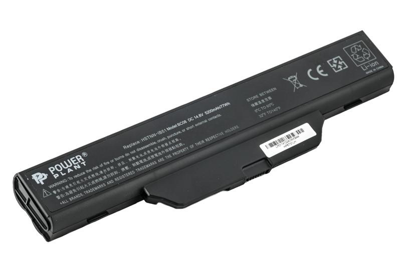 Аккумулятор PowerPlant для ноутбуков HP Business Notebook 6720 (HSTNN-IB51, H6731) 14.8V 5200mAh