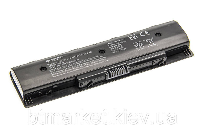 Аккумулятор PowerPlant для ноутбуков HP Envy 15 (HSTNN-LB4N, HPQ117LH) 10.8V 4400mAh