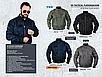Куртка мужская демис=езонная  тактическая  AVIATOR авиационный   нейлон  Mil-tec  цвет олива    Германия, фото 9