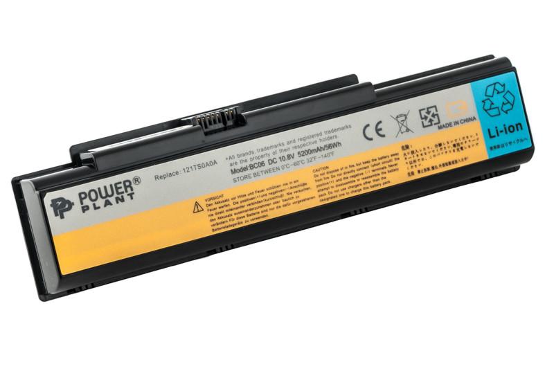 Аккумулятор PowerPlant для ноутбуков IBM/LENOVO IdeaPad Y510 (ASM 121000649 LEY710) 10.8V 5200mAh