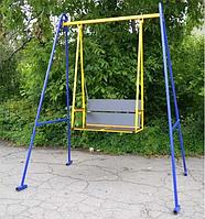 Качель двухместная с регулируемой спинкой Гойдалка-3, фото 1