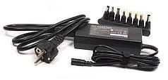 Универсальный блок питания для ноутбуков PowerPlant 220V, 15-24V 90W 6A
