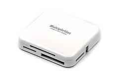 Кардридер PowerPlant USB 2.0 (All in 1) 6 слотов