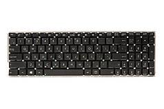 Клавіатура для ноутбука ASUS X550LB, X550LC чорний, без кадру