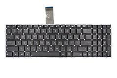 Клавиатура для ноутбука ASUS X501, X550 черный, без фрейма, с креплениями