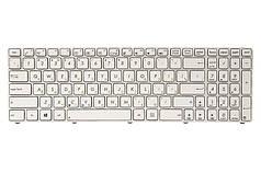 Клавіатура для ноутбука ASUS A52, K52, X54 (K52 version) білий, білий кадр