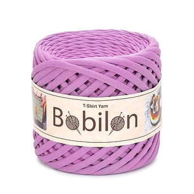 Трикотажная пряжа Бобилон  Micro (3-5 мм) Bubble Gum Пыльная Роза