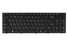 Клавиатура для ноутбука IBM/LENOVO IdeaPad 100-15IBY черный, черный фрейм