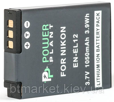 Аккумулятор PowerPlant Nikon EN-EL12 1050mAh, фото 2