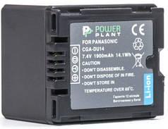 Акумулятор PowerPlant Panasonic CGA-DU14 1900mAh