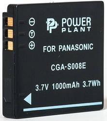 Акумулятор PowerPlant Panasonic CGA-S008, DB-70, DMW-BCE10 1000mAh