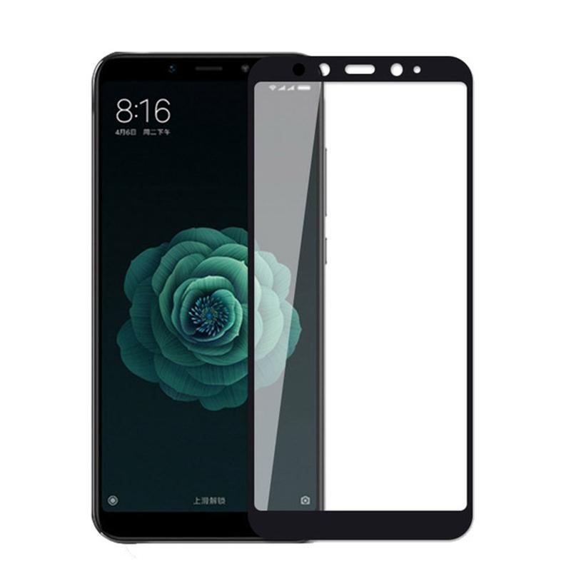Защитное стекло Full screen PowerPlant для Xiaomi Mi A2, Black