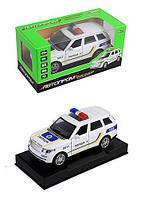 Машинка Автопром Land Rover Полиция 1:32 7844-2, фото 1