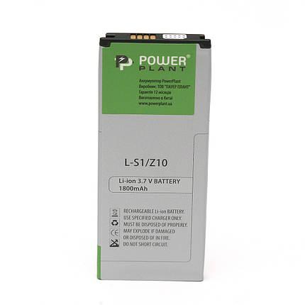 Аккумулятор PowerPlant Blackberry Z10 (L-S1) 1800mAh, фото 2
