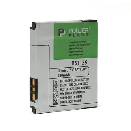 Аккумулятор PowerPlant Sony Ericsson T707 (BST-39) 920mAh, фото 2