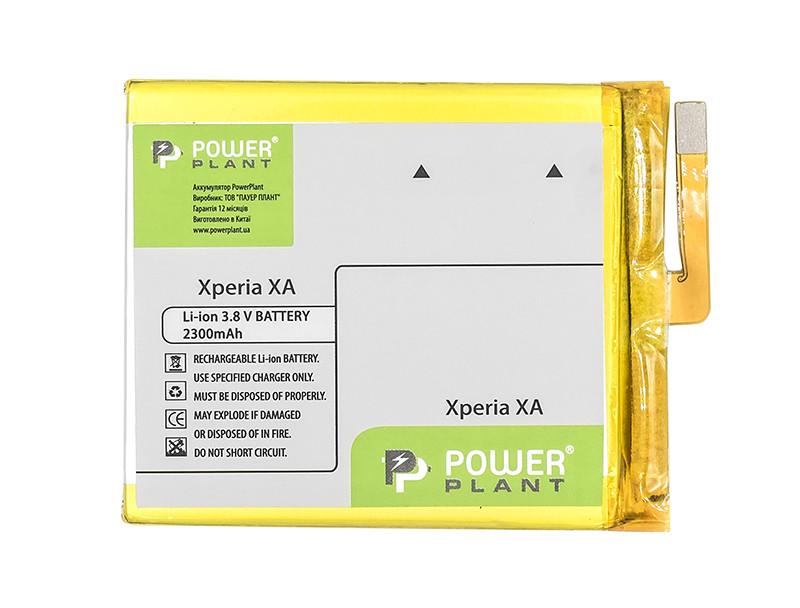 Аккумулятор PowerPlant Sony Xperia XA (LIS1618ERPC) 2300mAh