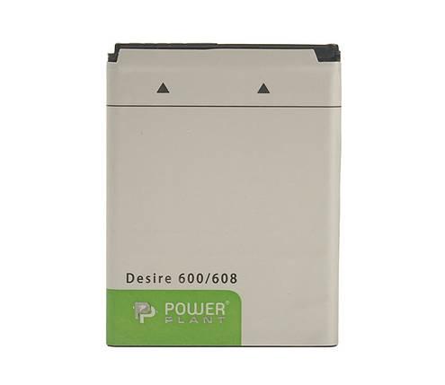 Аккумулятор PowerPlant HTC Desire 600 (BO47100) 1860mAh, фото 2
