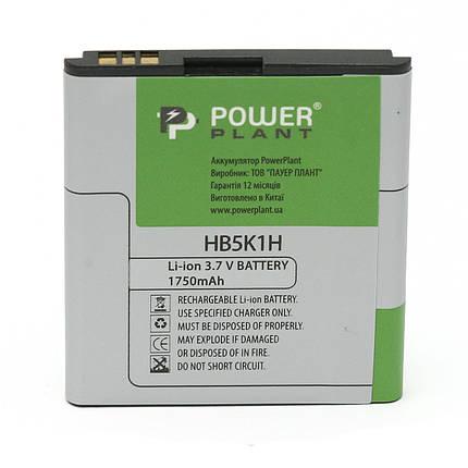 Аккумулятор PowerPlant Huawei U8650 (HB5K1H) 1750mAh, фото 2