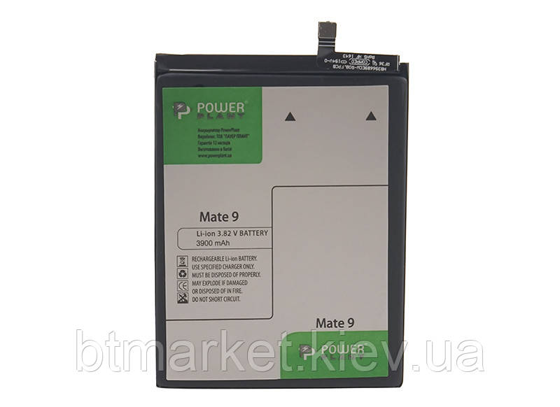 Аккумулятор PowerPlant Huawei Mate 9 (HB396689ECW) 3900mAh