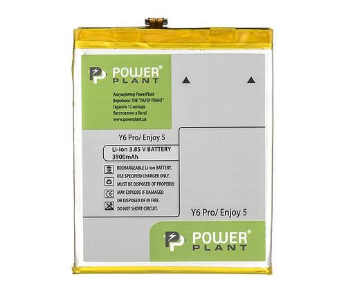Аккумулятор PowerPlant Huawei Y6 Pro (Honor Play 5X) / Enjoy 5 (HB526379EBC) 3900mAh, фото 2