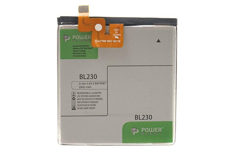 Аккумулятор PowerPlant Lenovo Vibe Z2 (BL230) 2900mAh