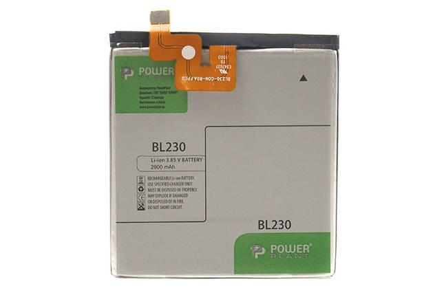 Аккумулятор PowerPlant Lenovo Vibe Z2 (BL230) 2900mAh, фото 2