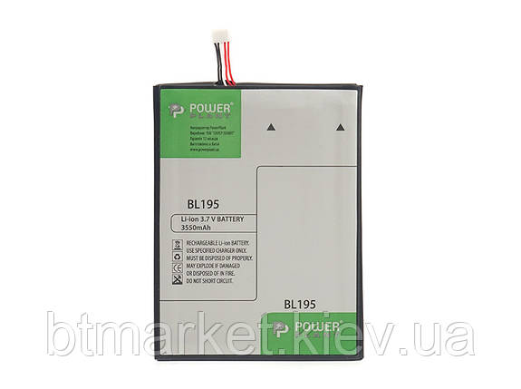 Аккумулятор PowerPlant Lenovo A2 (BL195) 3550mAh, фото 2