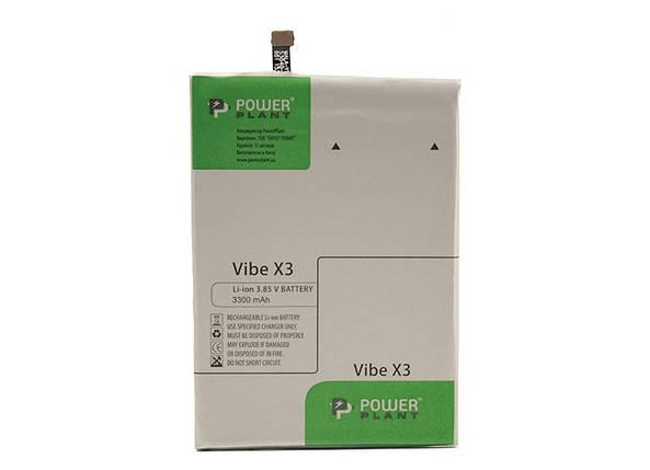 Аккумулятор PowerPlant Lenovo Vibe X3 Lite (BL256) 3300mAh, фото 2
