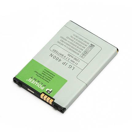 Аккумулятор PowerPlant LG GT540 (IP-400N) 1200mAh, фото 2