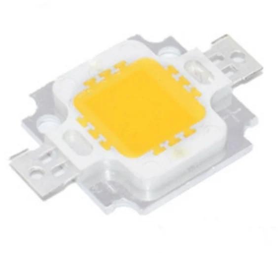 Світлодіод 10Вт 10W 9-12В - жовтий