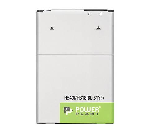 Аккумулятор PowerPlant LG H540F/H818 (BL-51YF) 3000mAh, фото 2