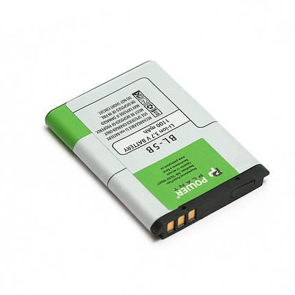 Аккумулятор PowerPlant Nokia 2610, 3220 (BL-5B) 1100mAh, фото 2