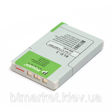 Аккумулятор PowerPlant Nokia 7210, 7250 (BLD-3) 800mAh, фото 2