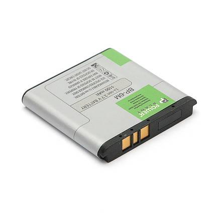 Аккумулятор PowerPlant Nokia 3250, 6280 (BP-6M) 1100mAh, фото 2