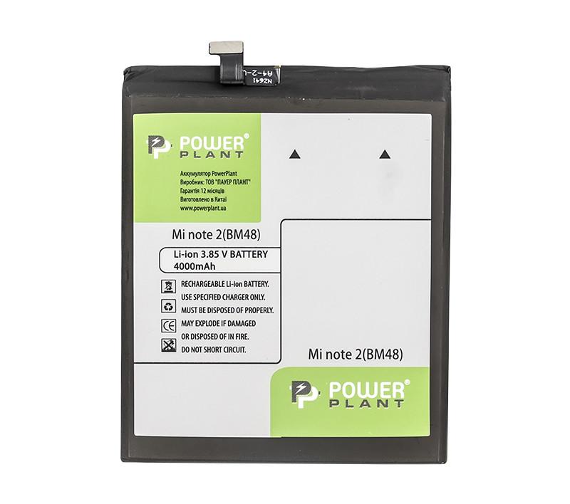 Аккумулятор PowerPlant Xiaomi Mi Note 2 (BM48) 4000mAh