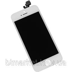 Дисплейный модуль (экран) для iPhone 5, белый