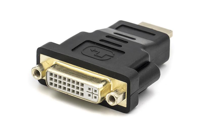Переходник PowerPlant HDMI M - DVI F (A-HDMI-DVI-2)
