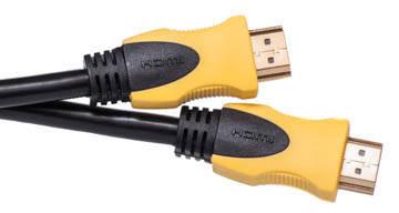 Видео кабель PowerPlant HDMI - HDMI, 0.75м, позолоченные коннекторы, 1.3V, фото 2