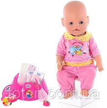 Лялька Пупс BB 8001-3 (Літо) Маленька Ляля новонароджений з аксесуарами