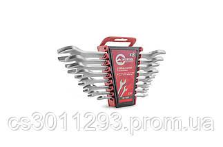 Набор рожковых ключей Intertool - 8 шт. (6-22 мм), фото 3