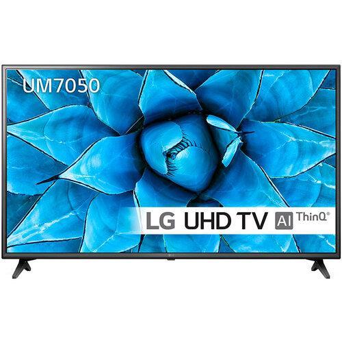 Телевизор LG 43UM7050PLF (PMI 1600Hz, 4K Active HDR, Ultra Surround, webOS, ThinQ AI, DVBT2/C/S2)
