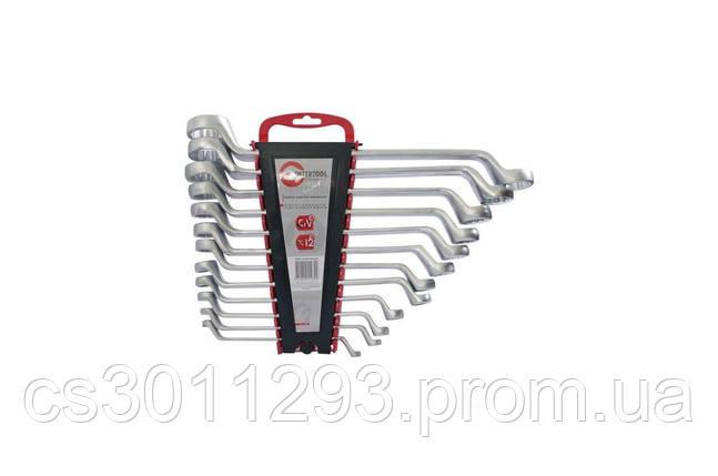 Набор накидных ключей Intertool - 12 шт. (6-32 мм) Storm, фото 2