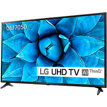 Телевизор LG 43UM7050PLF (PMI 1600Hz, 4K Active HDR, Ultra Surround, webOS, ThinQ AI, DVBT2/C/S2), фото 2