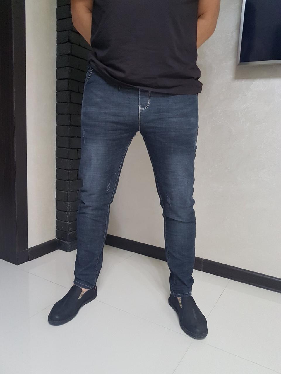 Мужские джинсы сильный стрейч