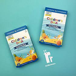 Жевательные таблетки омега-3 для детей со вкусом тропических фруктов Children's DHA, Nordic Naturals, 30 шт