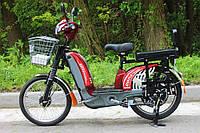 Электровелосипед грузовой Силач 450w/60v, фото 1
