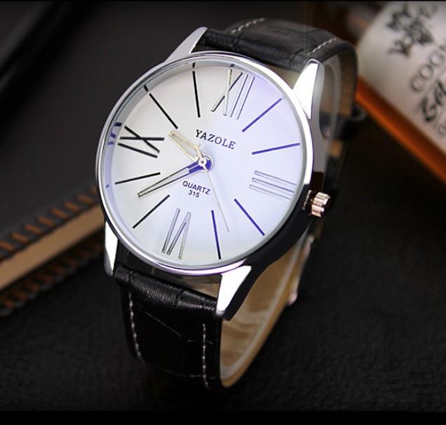 Чоловічі наручні годинники Geneva чорні