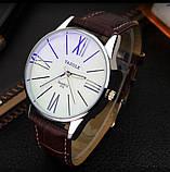 Чоловічі наручні годинники Geneva чорні, фото 2