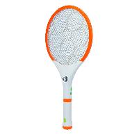 Электрическая мухобойка 2в1 с фонариком 4+1 LED заряжается от 220v